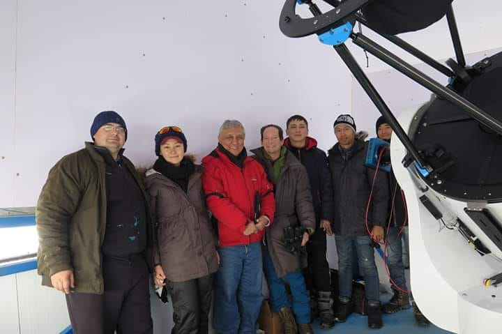 Installation of the CDK700 PWI fast telescope